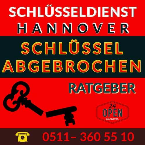 Schlüssel abgebrochen Hannover Ricklingen